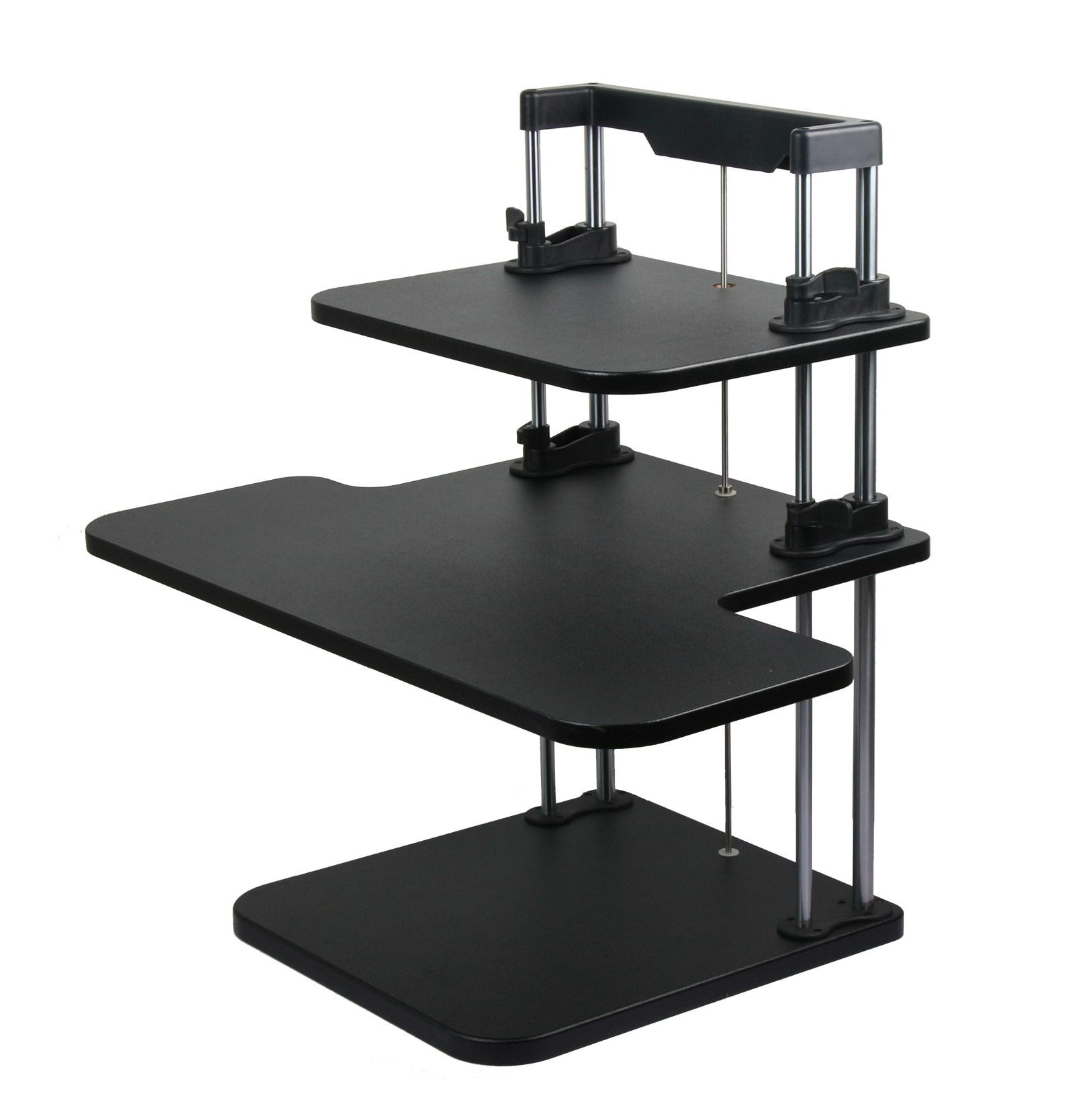 adjustable computer laptop standing desk   stand up desk