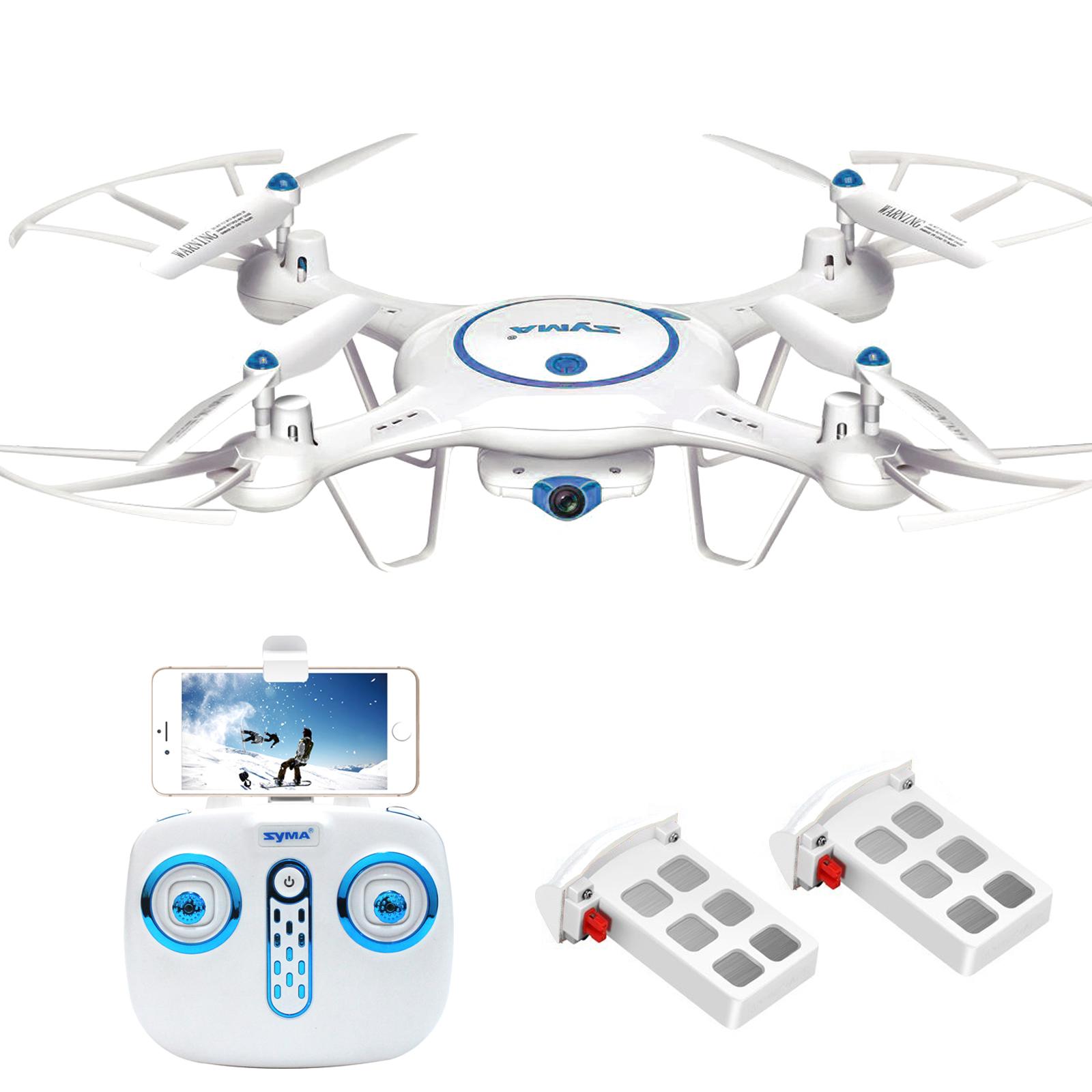Syma X5UW Wifi FPV RC Quadcopter Drone With 720P HD Camera