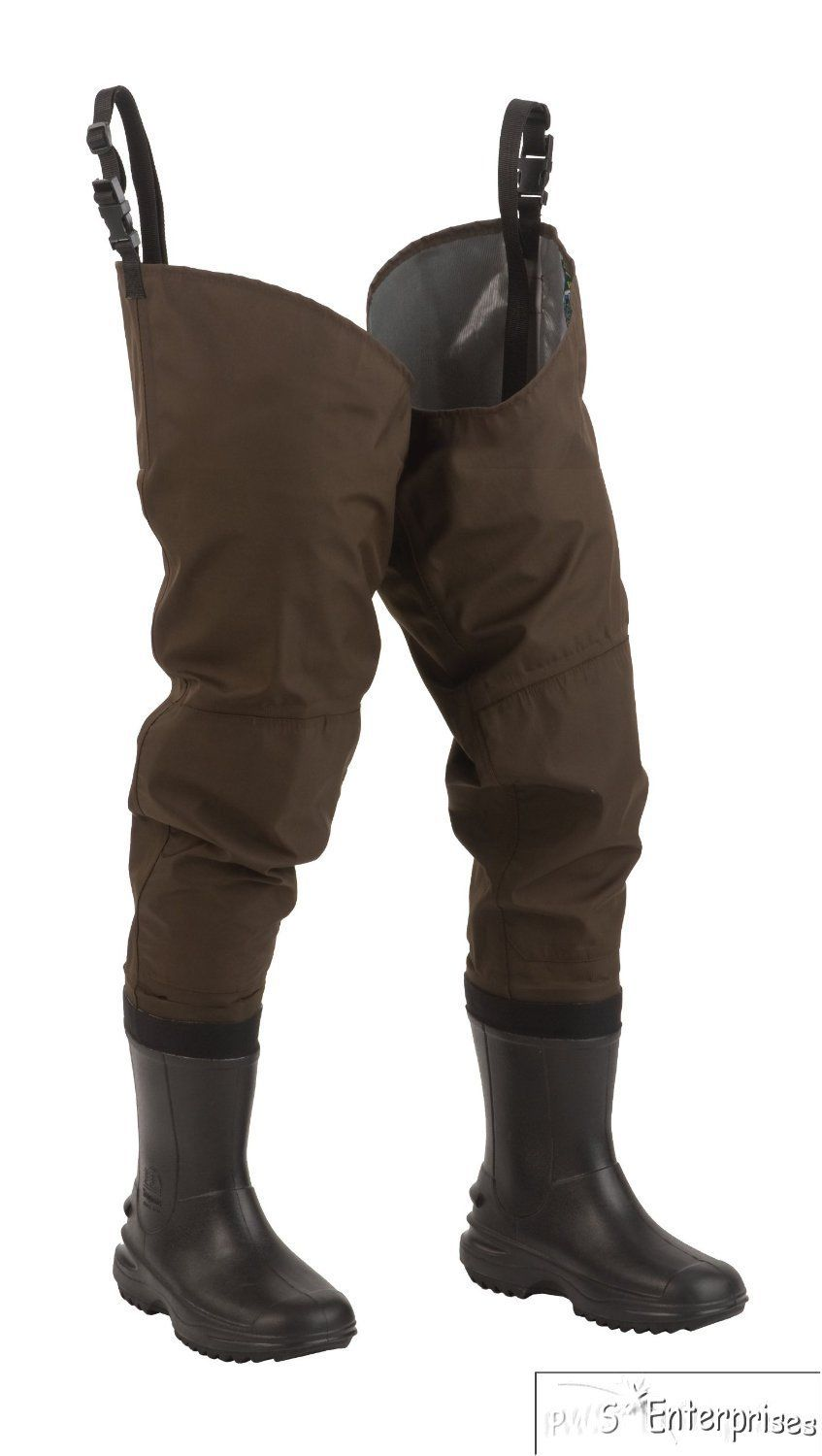 Hodgman fishing hunting pvc nylon waterproof hip waders for Hip boots for fishing