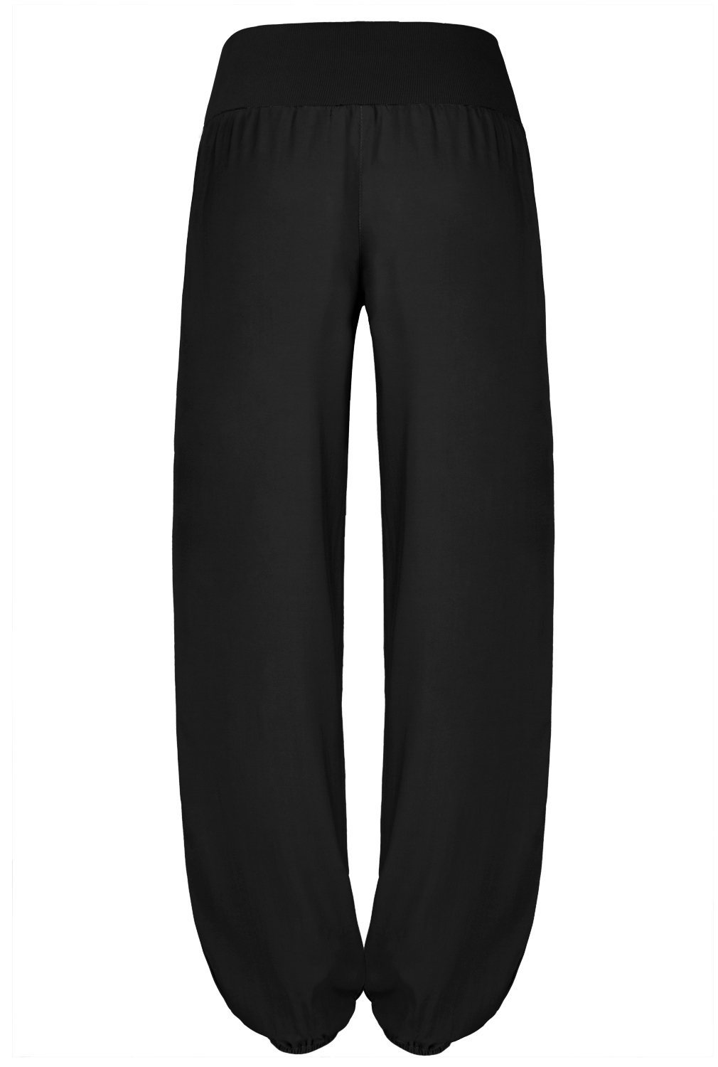 Popular Womens Button Deco Baggy Lounge Trousers Casual Harem Pants With Side Pockets | EBay