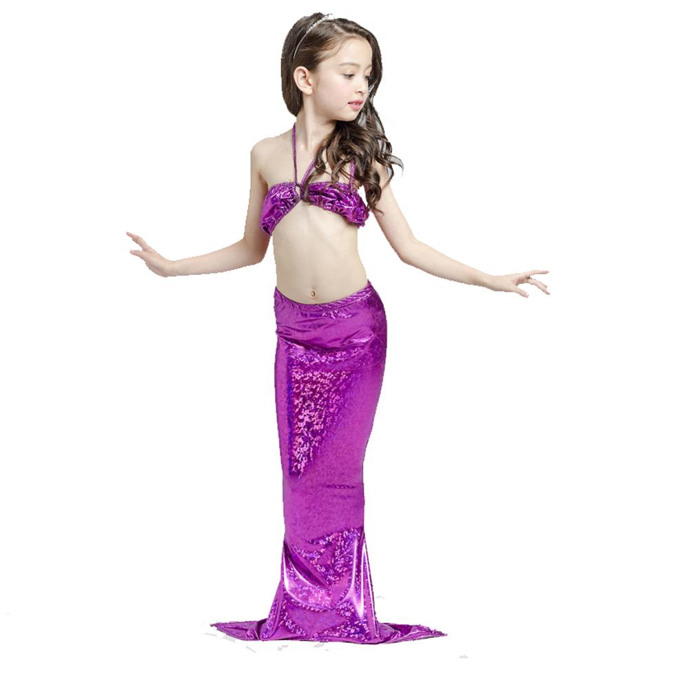 bikini-swimsuit-polyester-Swimmable-Bathing-Suit-Mermaid-Cosplay-Costume-Purple