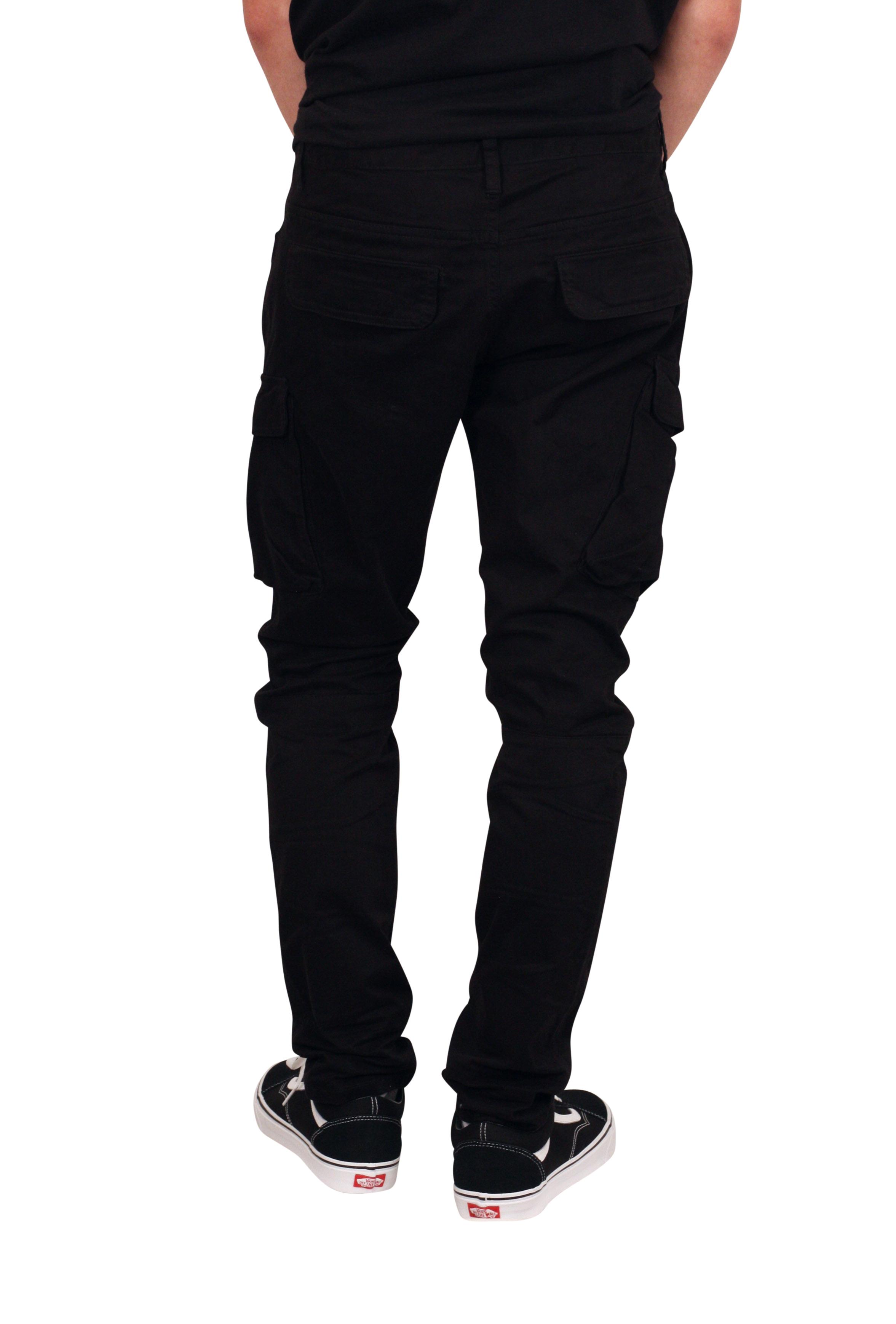SMOKE RISE Slim Fit Cargo Pants