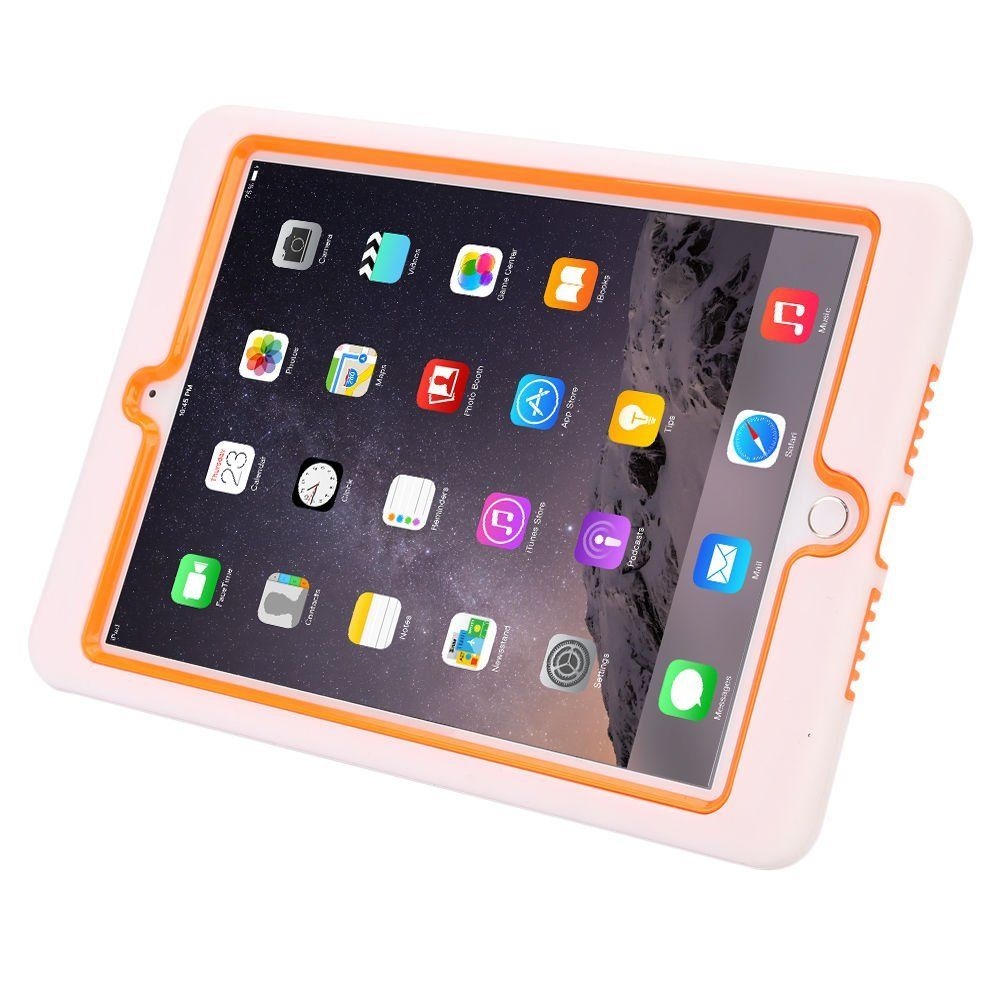 Hybrid Heavy Duty Shockproof Military Case Cover Shell For iPad Air 2 in 2014