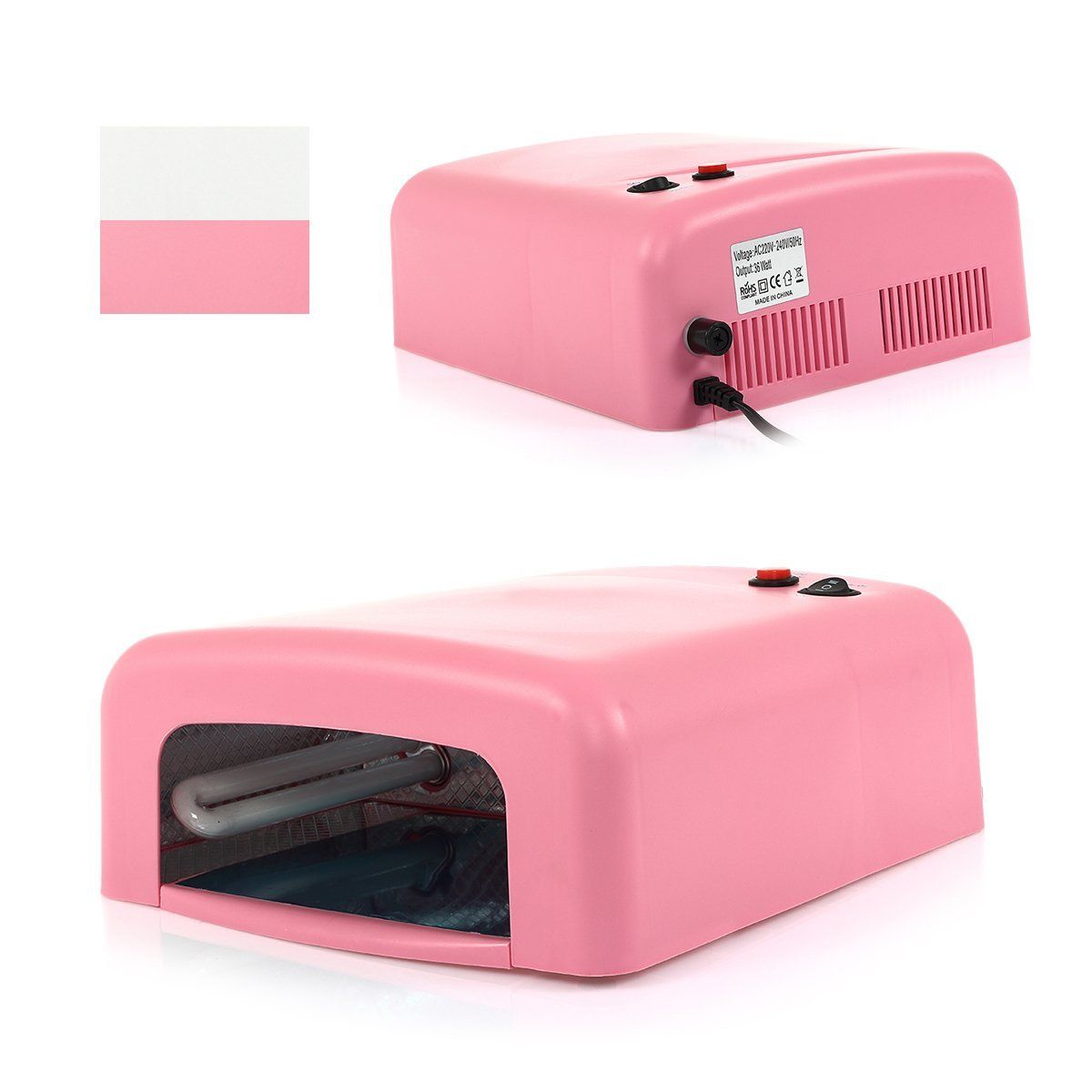 Nail Dryer Light: New 36W /9W Pro Nail Dryer UV Lamp Salon Curing Polish