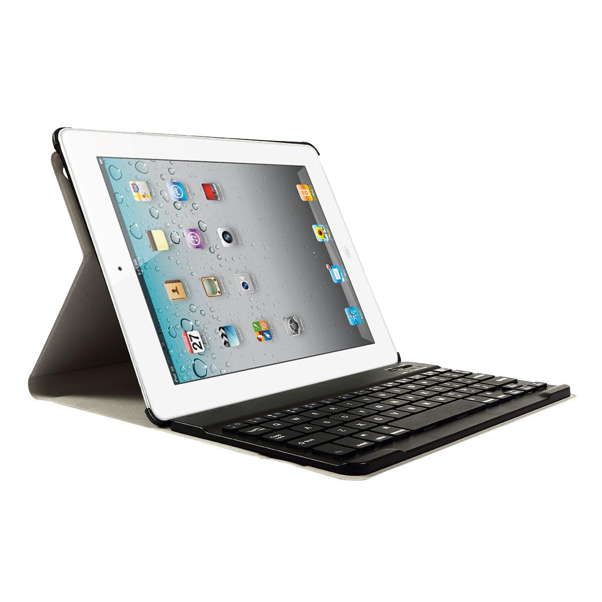 Detachable Wireless Bluetooth Keyboard With Case For IPad
