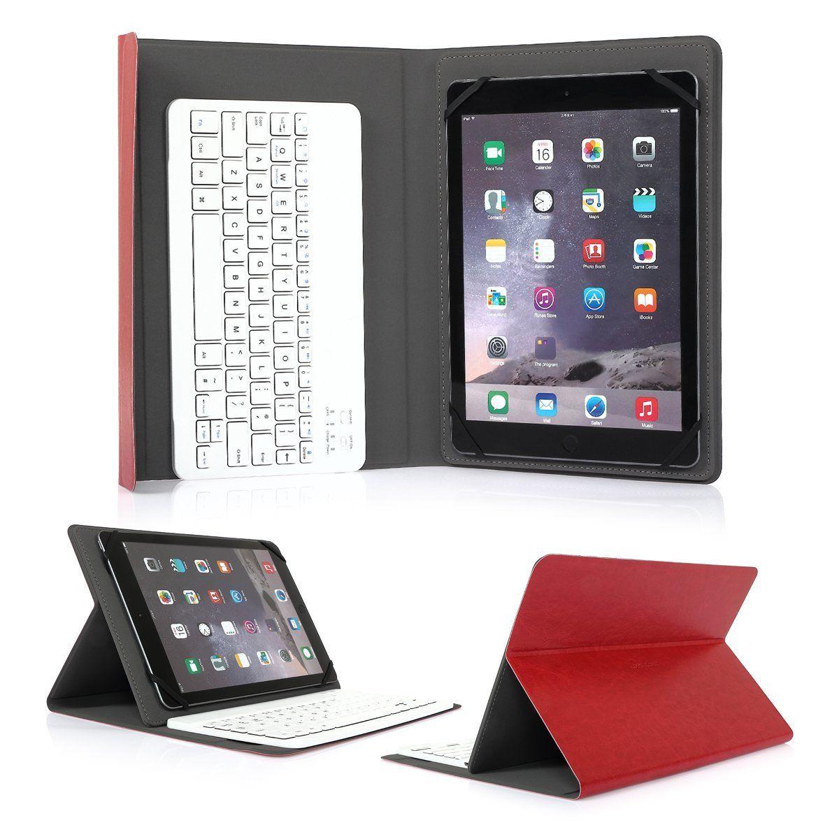 uk layout detachable keyboard case for android ios windows 10 tablet mobile ebay. Black Bedroom Furniture Sets. Home Design Ideas