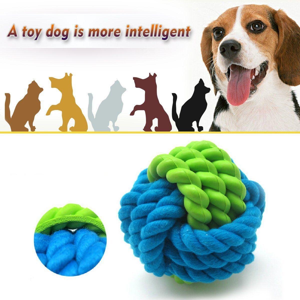 Jump'n jack dog toy