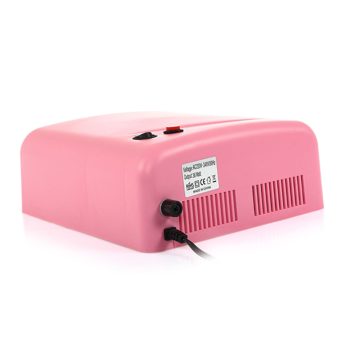 Nail Dryer Light: 36W UV Lamp Nail Polish Light Nail Dryer Gel Curing With