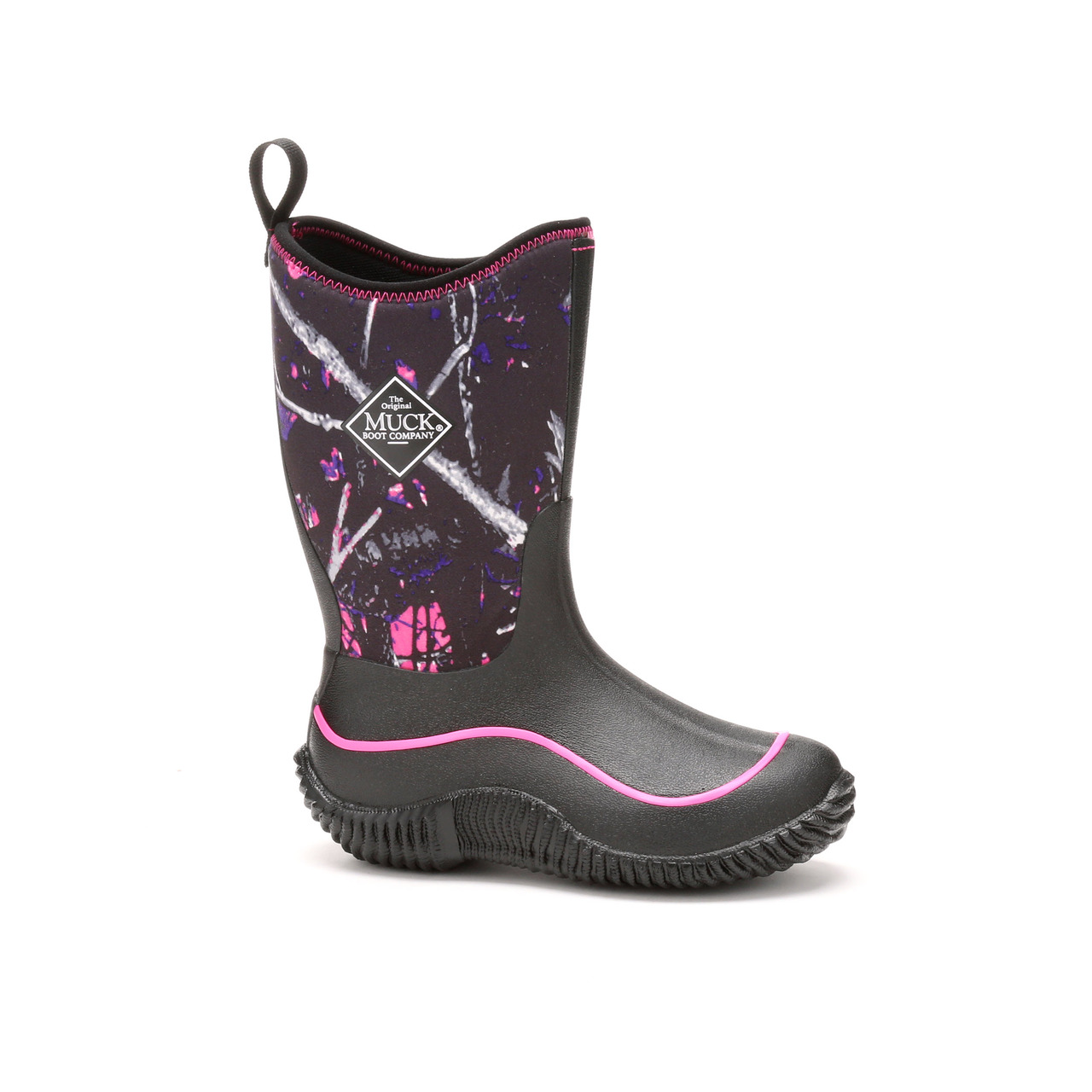 Muck Boots Kid S Hale Outdoor Sport Boot Black Muddy Girl