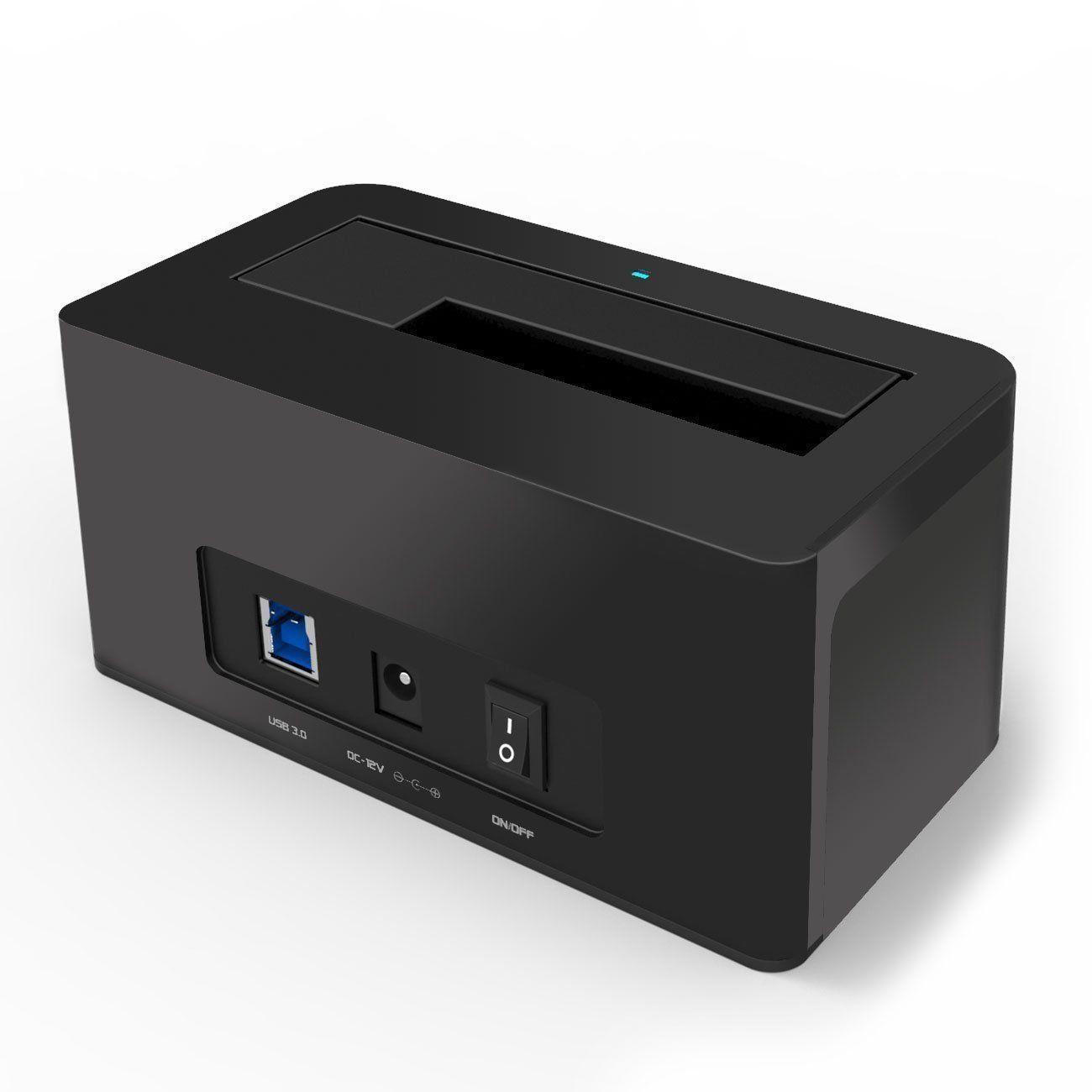 usb 3 0 sata docking station 2 5 3 5 hdd sata dock hard drive reader enclosure ebay. Black Bedroom Furniture Sets. Home Design Ideas