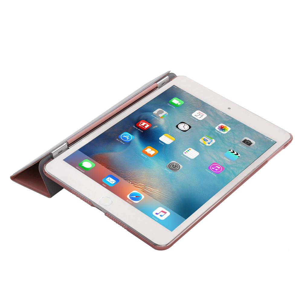 slim leather smart cover back skin case for apple ipad 2 3 4 mini air pro 9 7 ebay. Black Bedroom Furniture Sets. Home Design Ideas