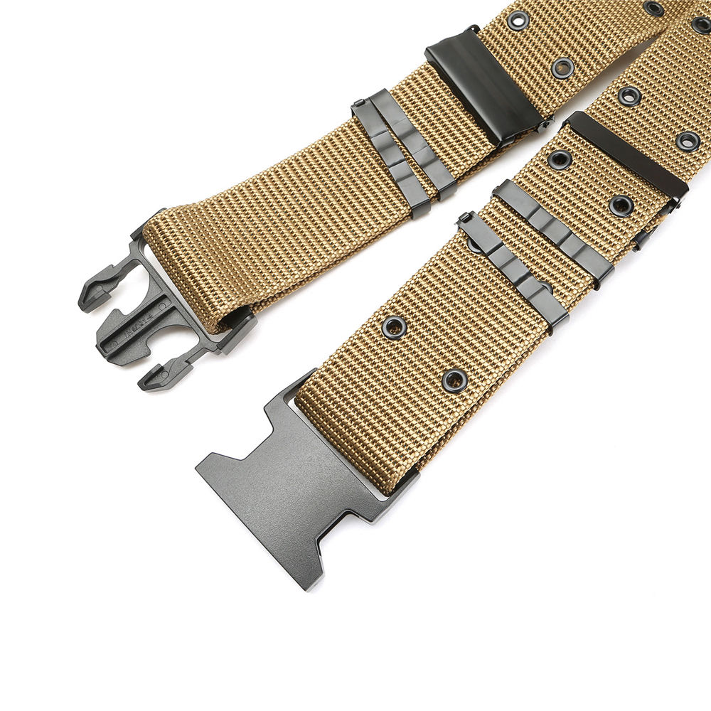 Survival Tactical Nylon Belt Emergency Rescue Rigger Militaria Waistband Strap