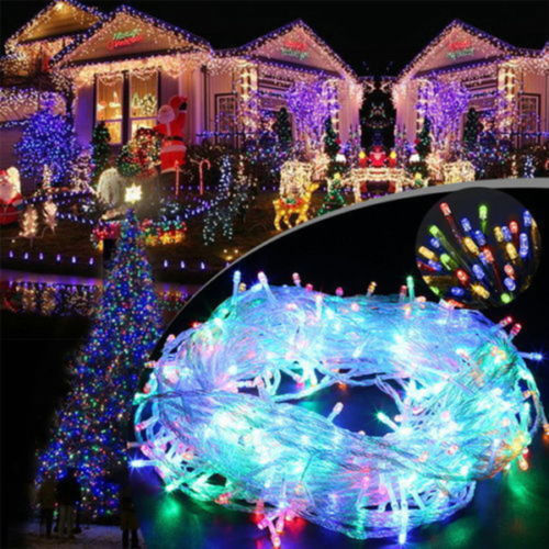 WARM WHITE CHRISTMAS BATTERY FAIRY STRING LIGHTS LED INDOOR OUTDOOR XMAS PARTY eBay