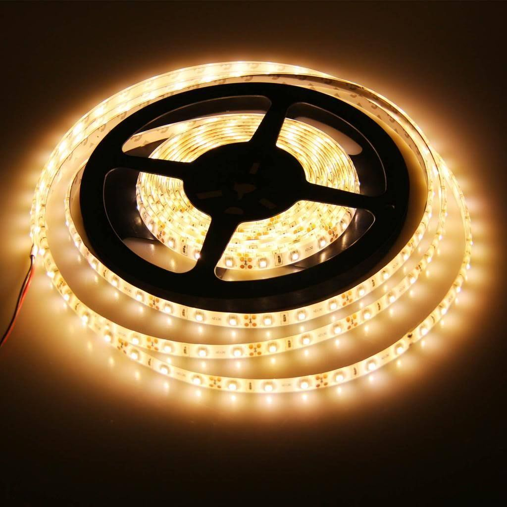 3528 5050 5m cool warm white 300smd 12v led strip. Black Bedroom Furniture Sets. Home Design Ideas