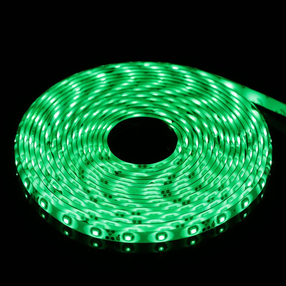 3528 5050 5M White/RGB 300 SMD 12V LED Flexible Dimmable Strip Light + Power | eBay