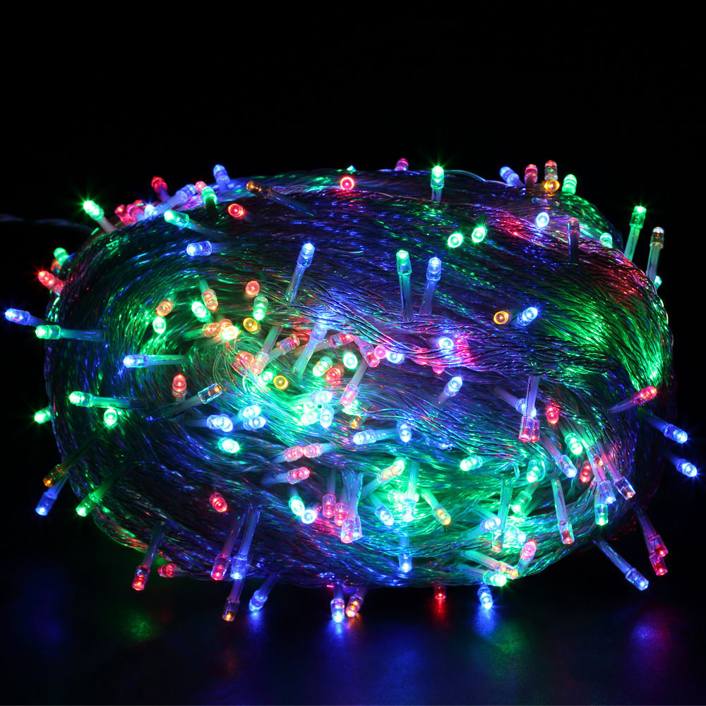 Led Party String Lights : 300/500/1000 LED Fairy String Lights Outdoor Xmas Garden Halloween Party Decor eBay