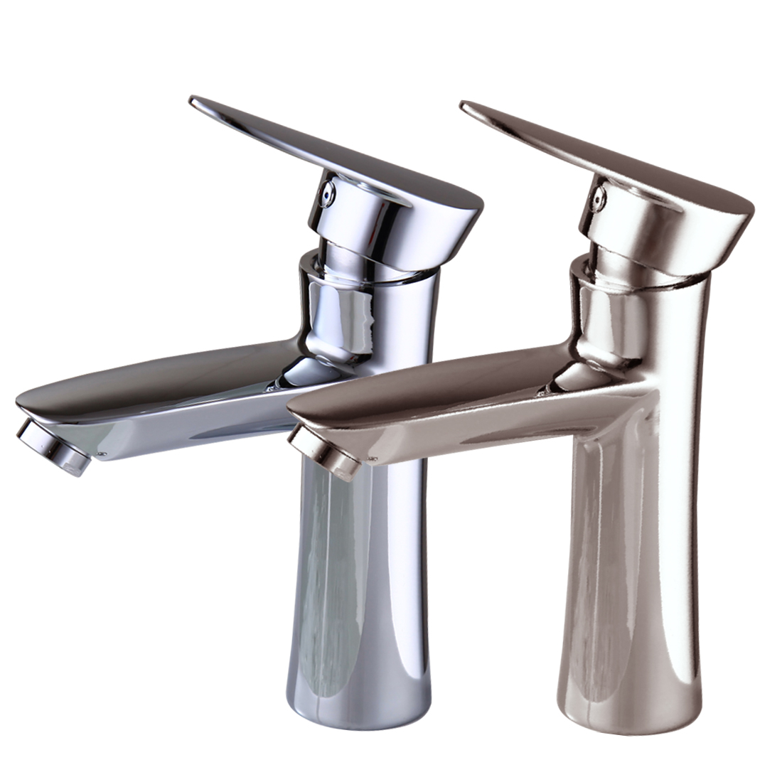 Oil rubbed bronze modern bathroom faucet widespread sink for Plumbing bathroom sink