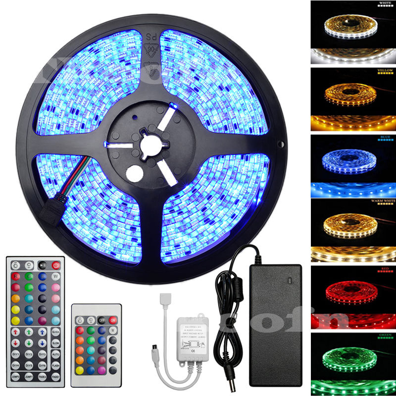 flexible 5m 72w smd 5050 3528 led strip band lighting lamp. Black Bedroom Furniture Sets. Home Design Ideas