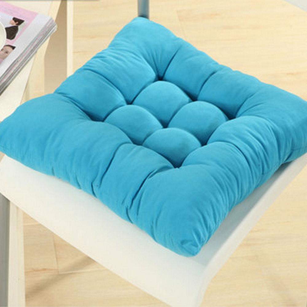 Soft Square Cotton Seat Cushions Home Garden Outdoor Chair Patio Car Sofa Pad
