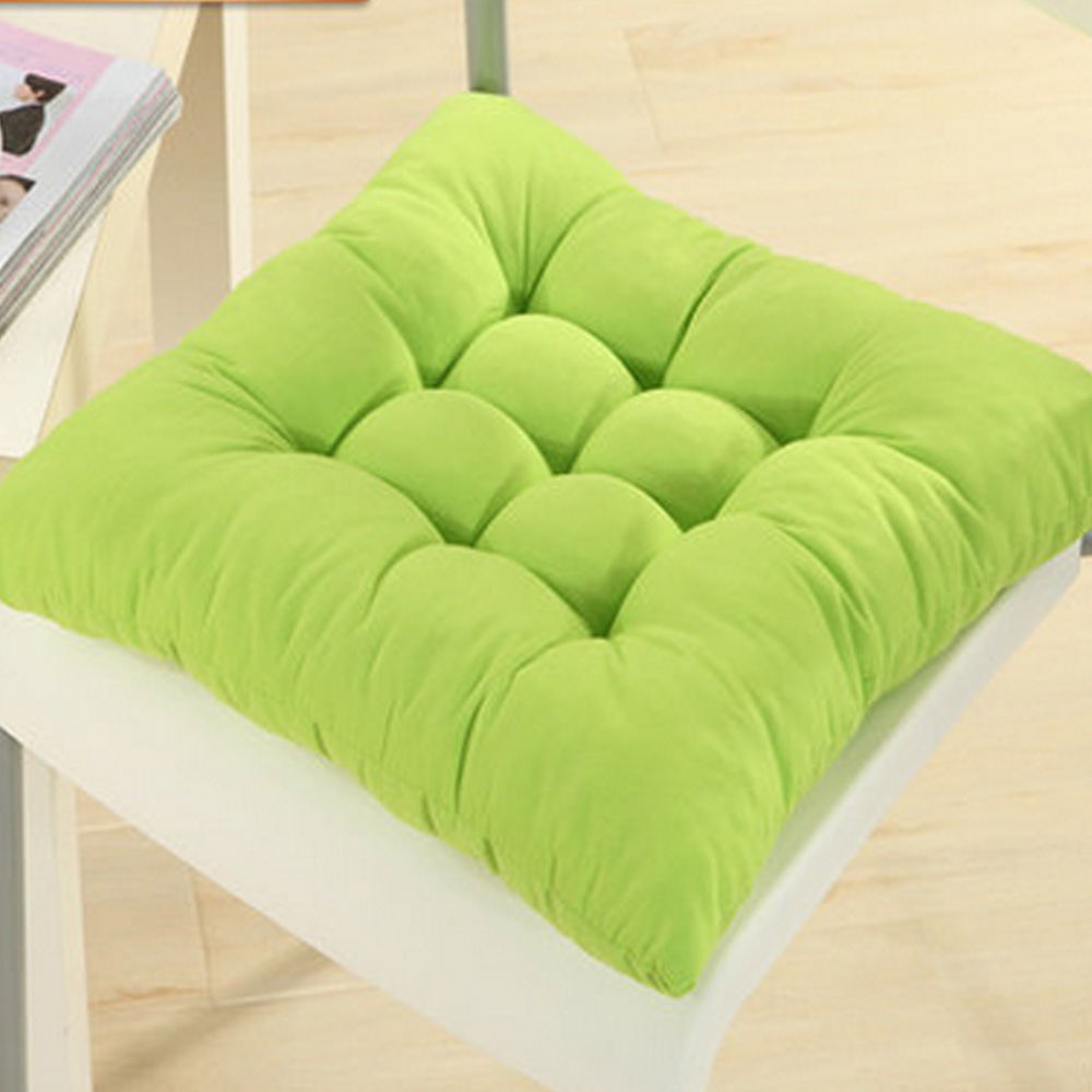 Soft Square Cotton Seat Cushions Home Garden Outdoor Chair Patio Car Sofa Pad