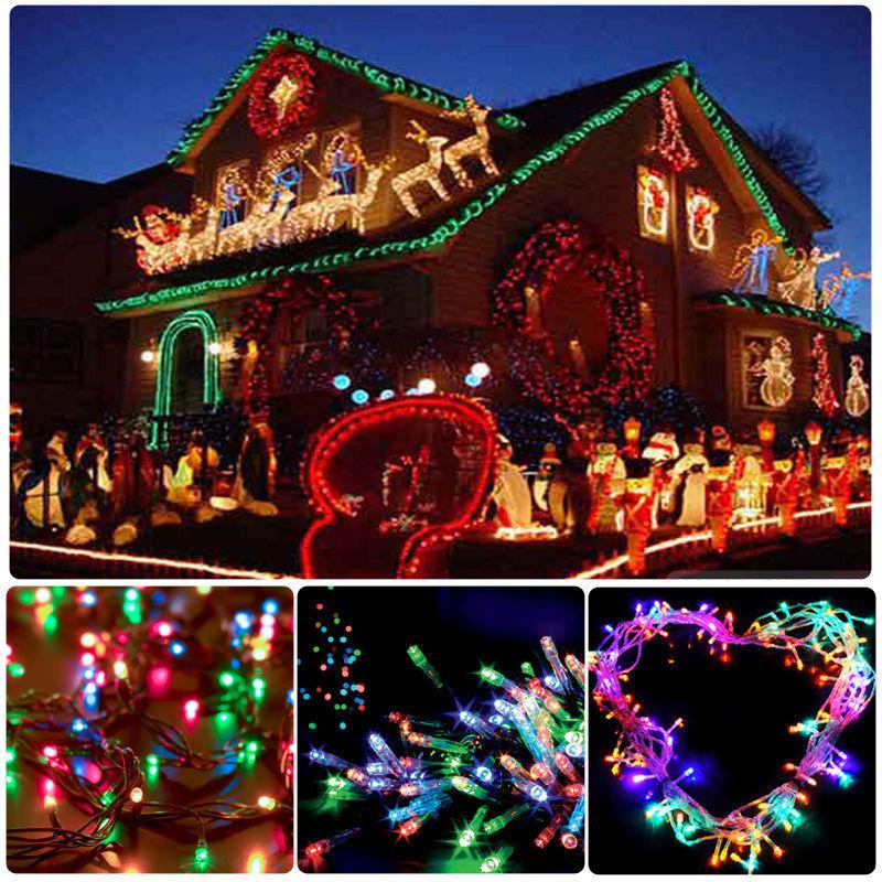 10m 100 led christmas tree fairy string party lights lamp xmas - 10 200m 33 656 Feet Led String Fairy Lights For Wedding