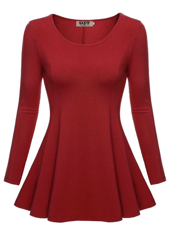 Women S Long Sleeve Career Blouses Collar Blouses