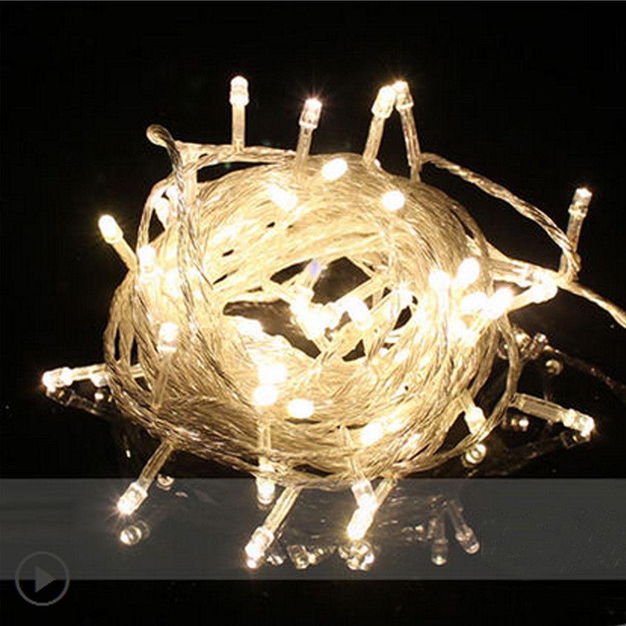 100M 500 LED Easter Garden Wedding Christmas Outdoor New Year Fairy String Light eBay