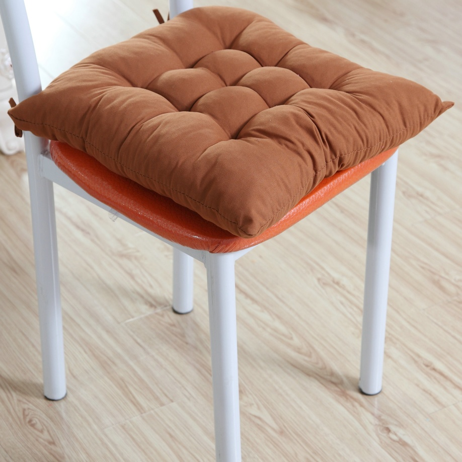 Outdoor Patio Furniture Pads: Garden Dining Room Soft Seat Pad Chair Cushions Pads Tie