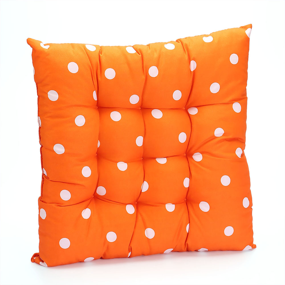 Chunky Polka Dot Seat Pad Chair Cushions Pads For Garden  : h09135 159281 from www.ebay.co.uk size 1000 x 1000 jpeg 137kB