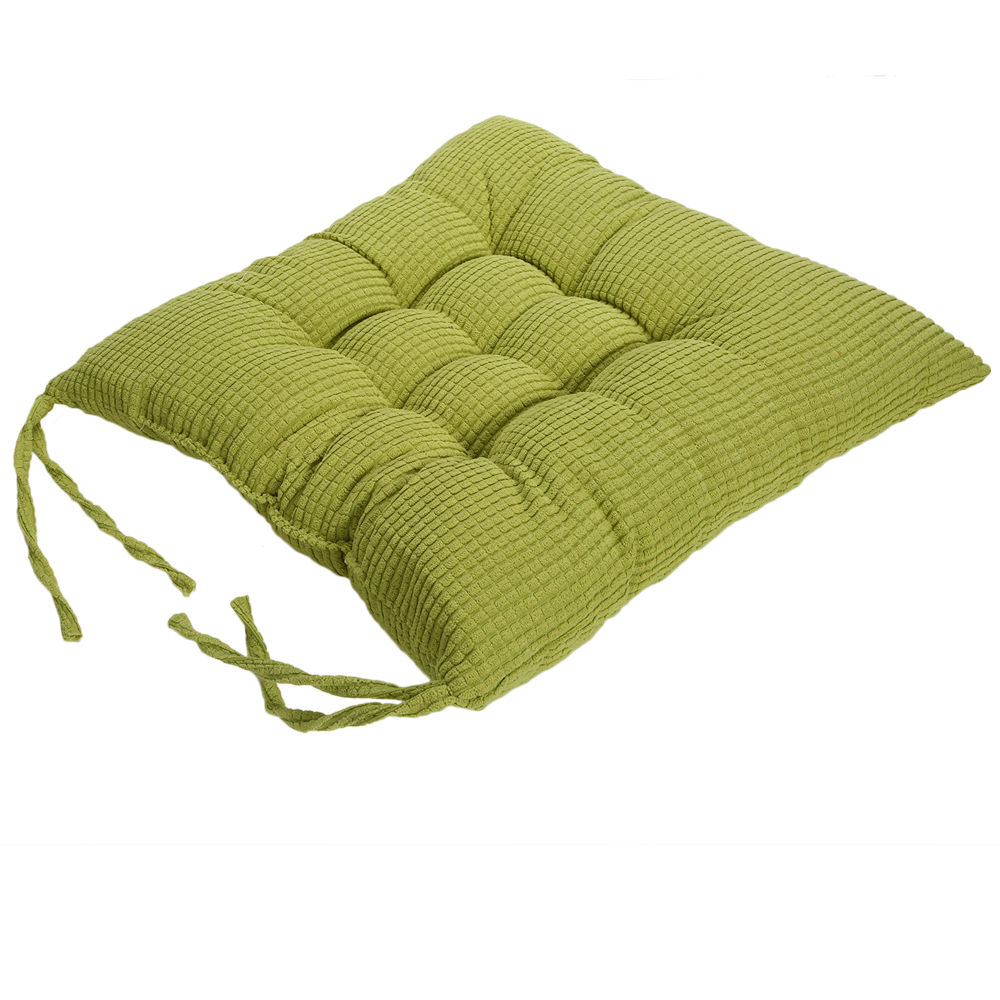 Indoor Soft Square 40cm Velvet Seat Cushion Chair Cafe Sofa Cushion Pads Cotton