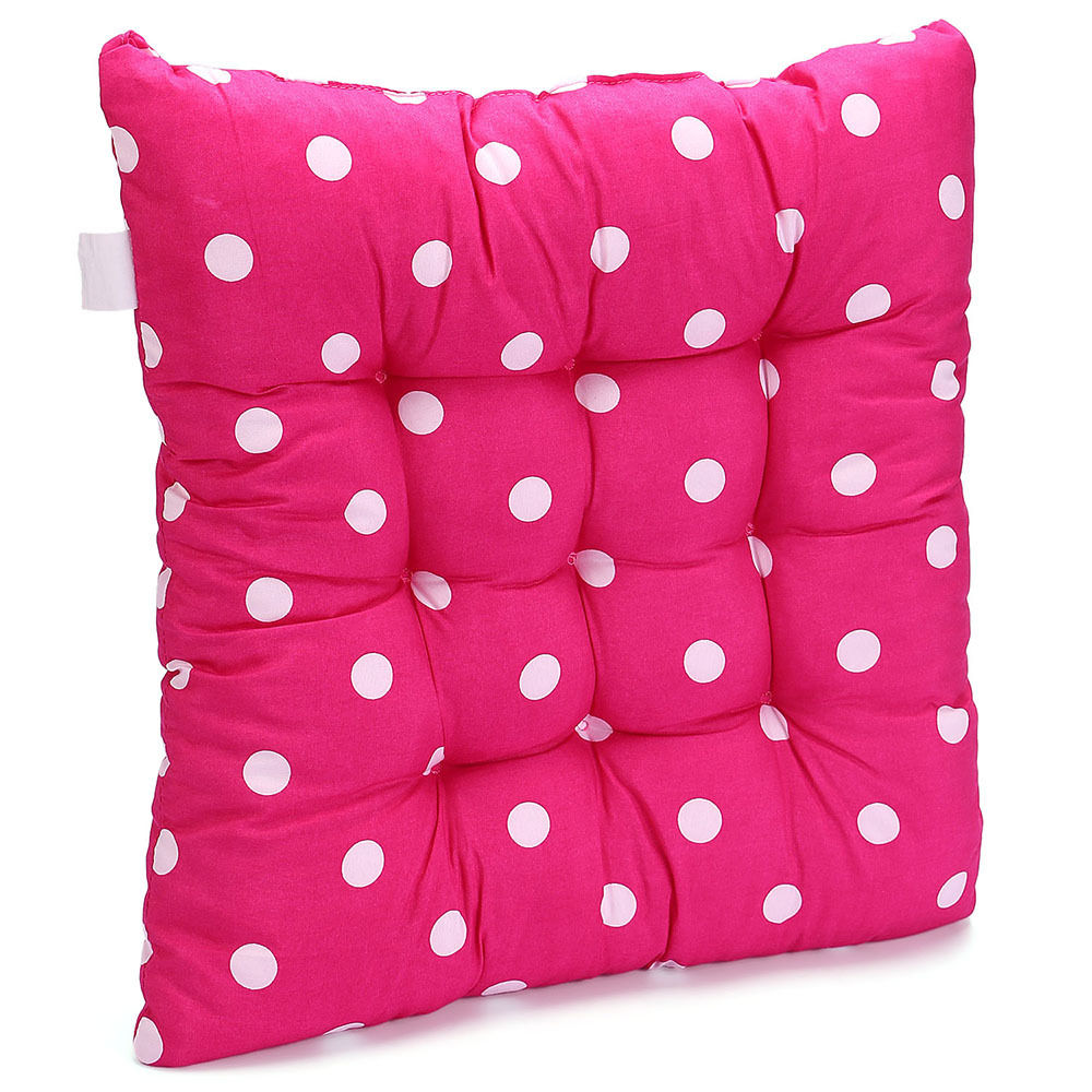 2X Soft Polka Dot Seat Pad Chair Cushions Pad For Home  : h09135 1625161 from www.ebay.com.au size 1000 x 1000 jpeg 146kB