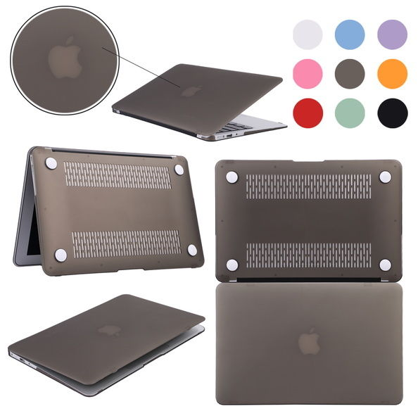 """Rubberized Hard Case Cover lot for Macbook Pro 11"""" 13"""" 15"""" Laptop Shell & Sleeve"""