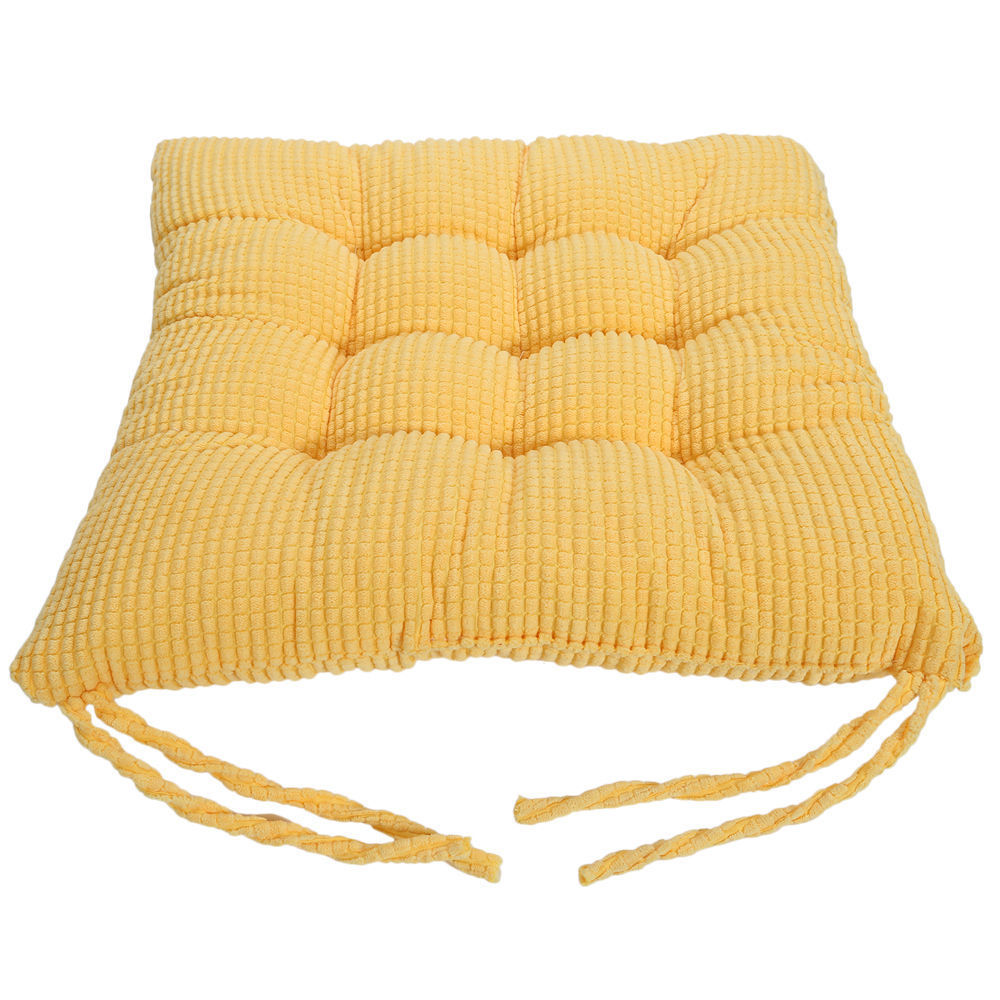 tie on dotty chunky seat pad chair cushion pads for dining room garden kitchen ebay. Black Bedroom Furniture Sets. Home Design Ideas