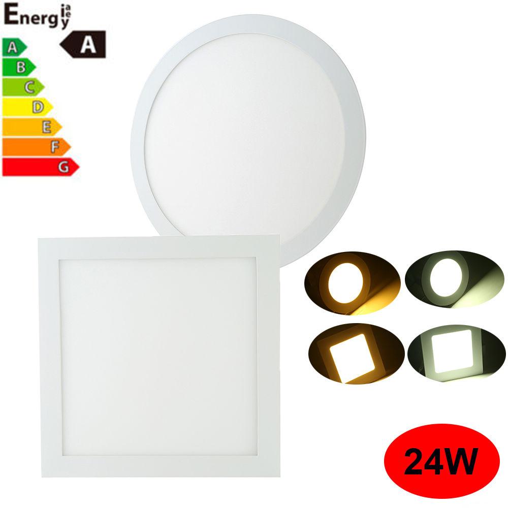 Ultra Slim Recessed Led Flat Panel Ceiling Spot Lights