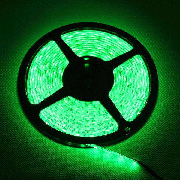 3528-5050-5M-White-300-SMD-12V-LED-Flexible-Strip-Light-Waterproof-tape-Adapter