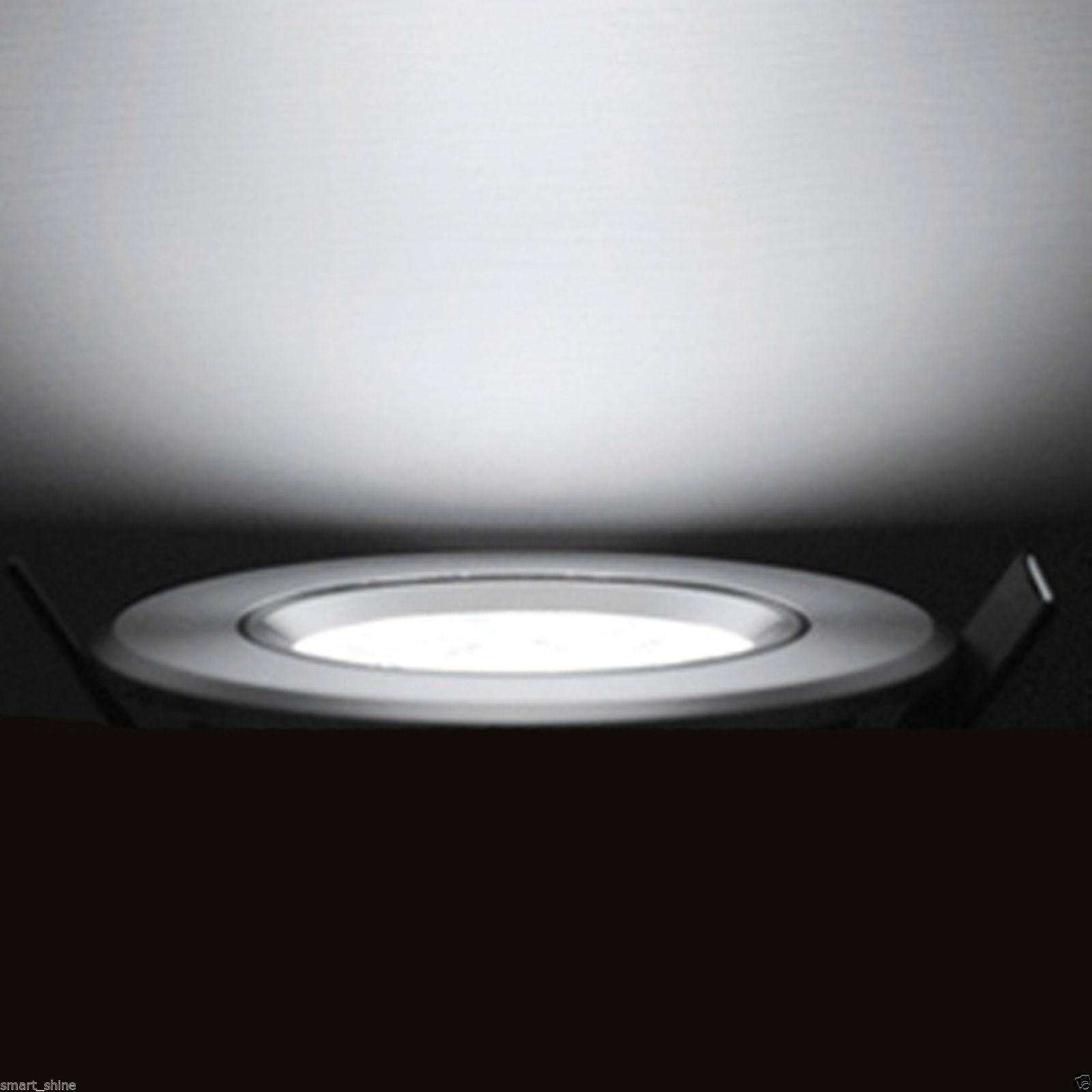 7w LED Luce verso il basso soffitto a Incasso Lampada Riflettore in bianco caldo/freddo con ...