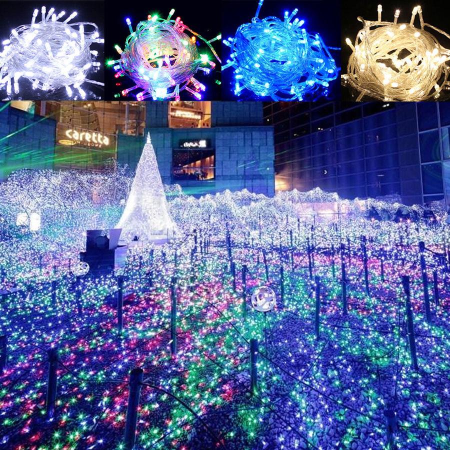 String Lights Indoor Wedding : 100m 200m LED Fairy String Lights Christmas Xmas Party Wedding Indoor/Outdoor eBay