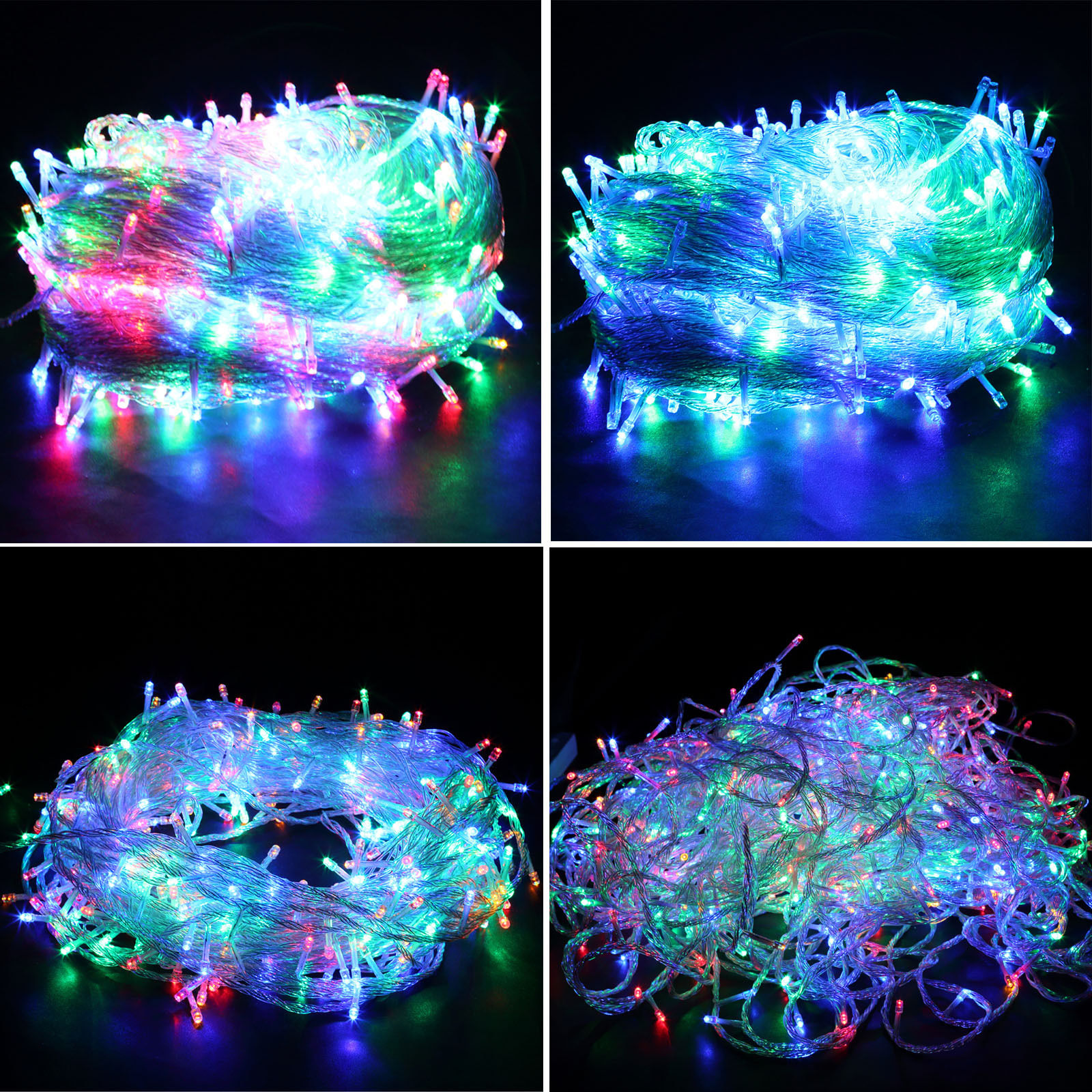 1000 LEDs Fairy String Light Party Easter Wedding Outdoor Mall Room US 656 Ft eBay