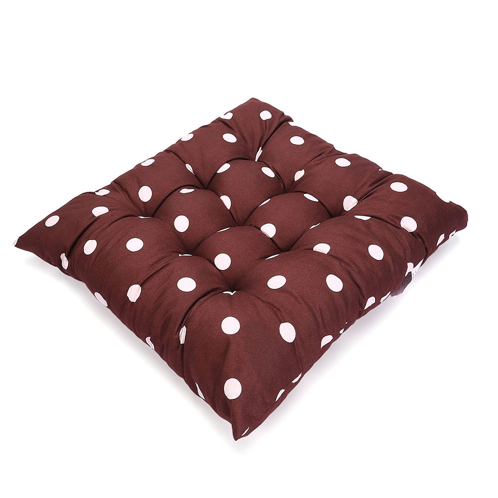 tie on dotty chunky seat pad chair cushion pads dining. Black Bedroom Furniture Sets. Home Design Ideas