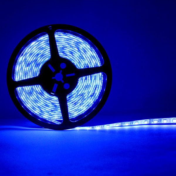 Outdoor Waterproof Tape Lights: 3528 12V 5M Light Strip 300 SMD Roll Tape Car Outdoor