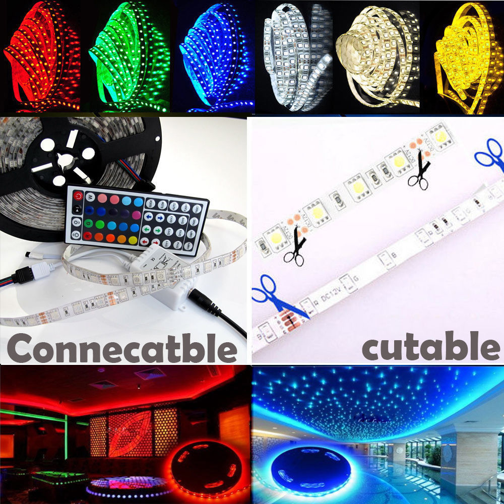 5 20m 300 led mood lighting ideas tv back lights colour for Mood light designs