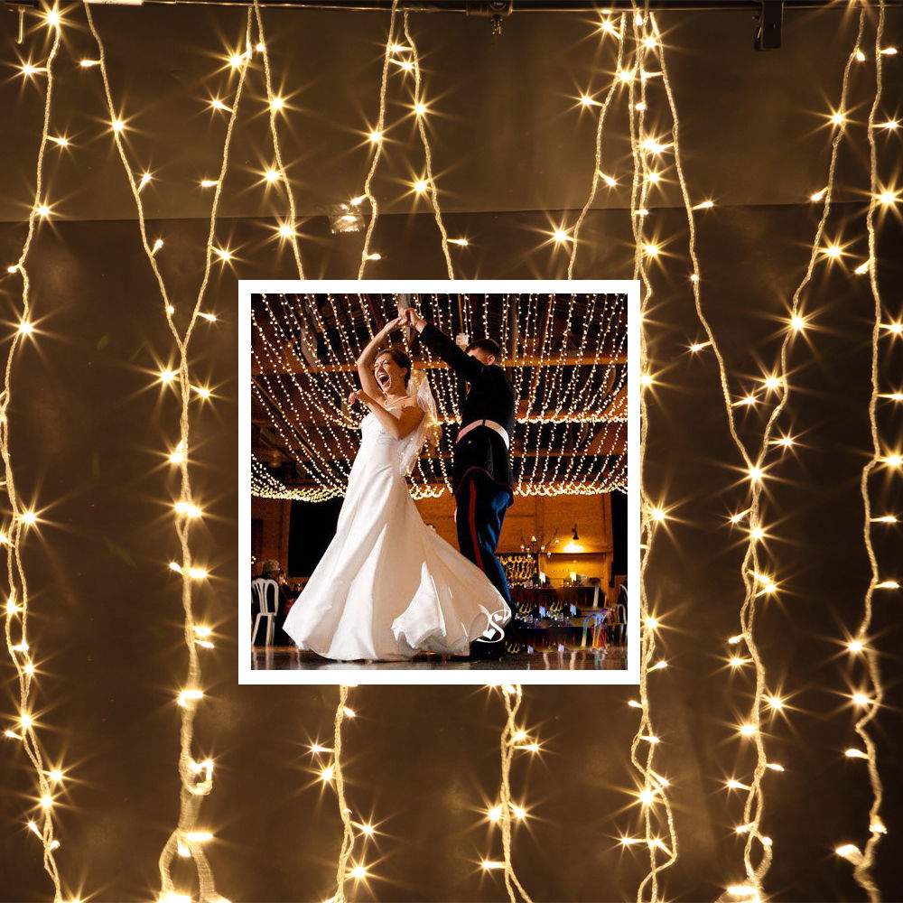 How Do U String Lights On A Christmas Tree : 200-1000 LEDs Fairy String Light Wedding Christmas Tree Party Outdoor White/Warm