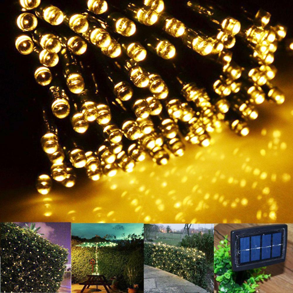 solar fairy string lights 20m 100 led 30m 200 led