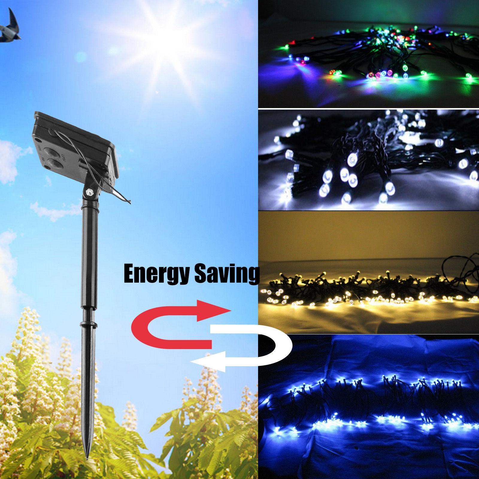 Fairy String Lights 30M 200 LED Solar Charging Christmas