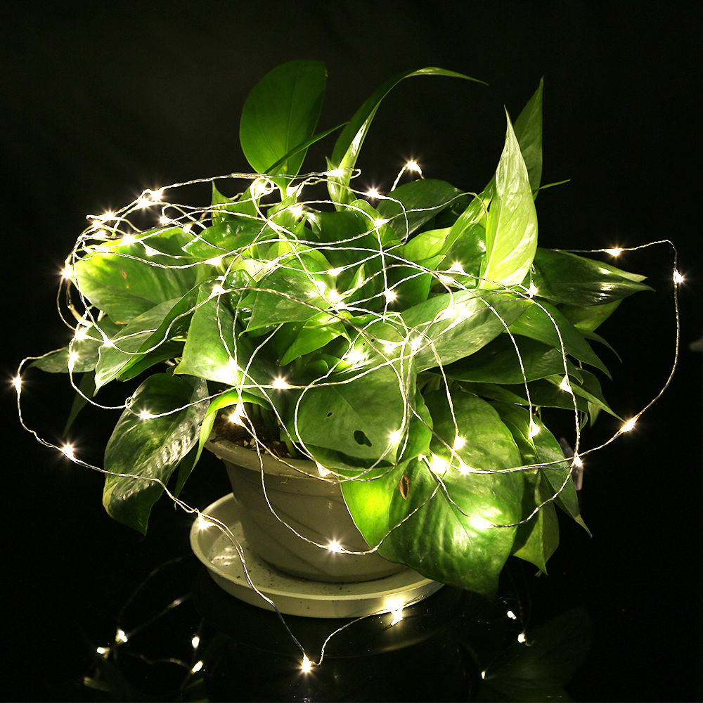 Warm White 20-100 LEDs Copper Wire String Christmas Party Decoration Fairy Light eBay