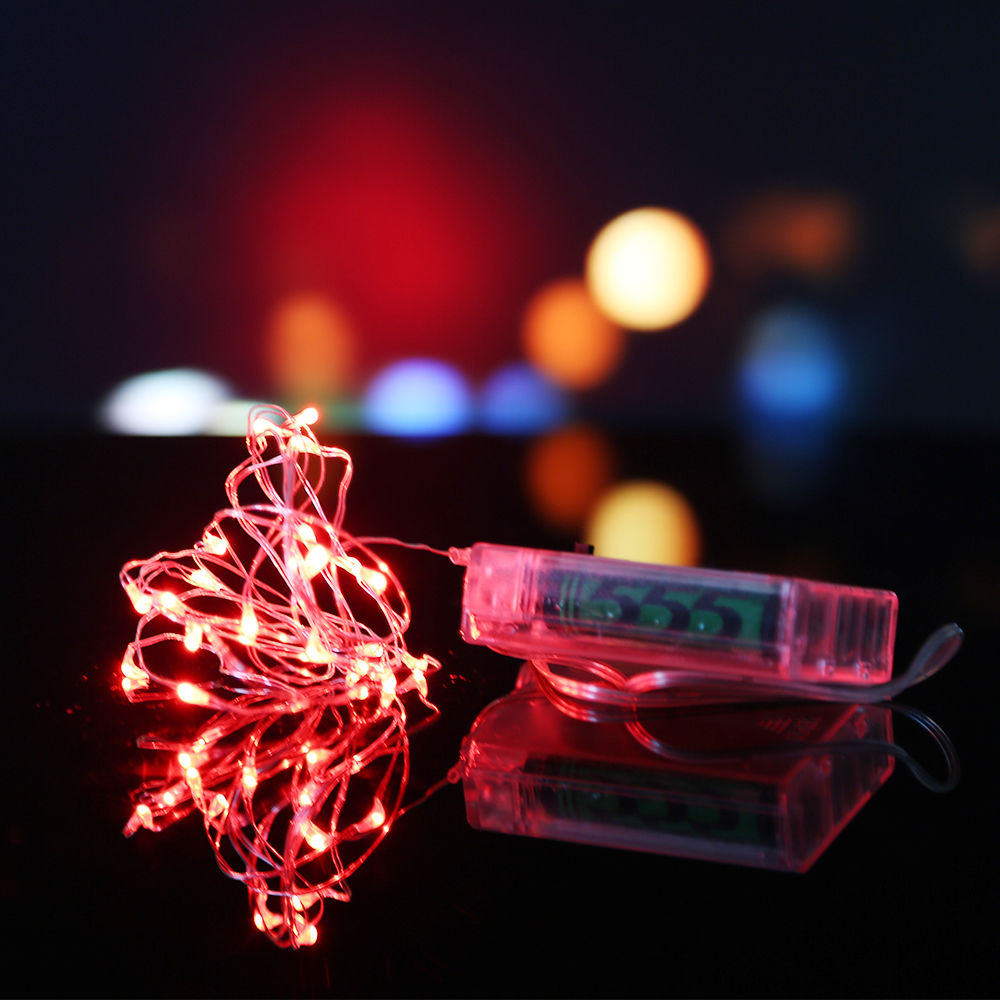 string fairy light 10m 100led battery operated xmas lights. Black Bedroom Furniture Sets. Home Design Ideas