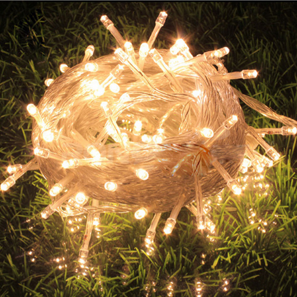 Mains String Garden Lights : Mains Powered 20m 30m 100m 200m String Fairy Lights Xmas Garden Wedding Party AU eBay