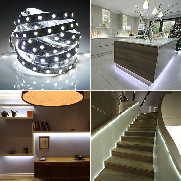 3528 5050 rgb smd led stripe leiste band schlauch. Black Bedroom Furniture Sets. Home Design Ideas