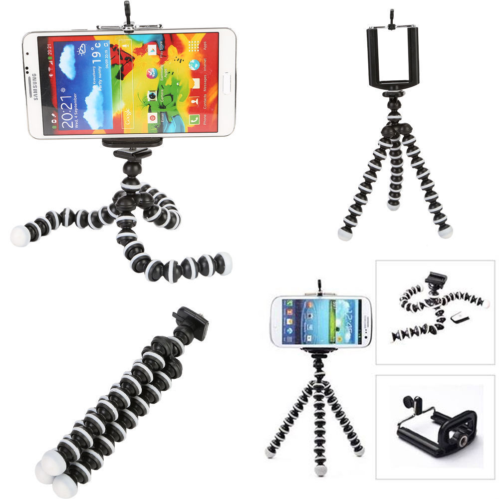 Mini Flexible Octopus Video Camera Tripod for Canon Nikon Sony DC Phone Travel