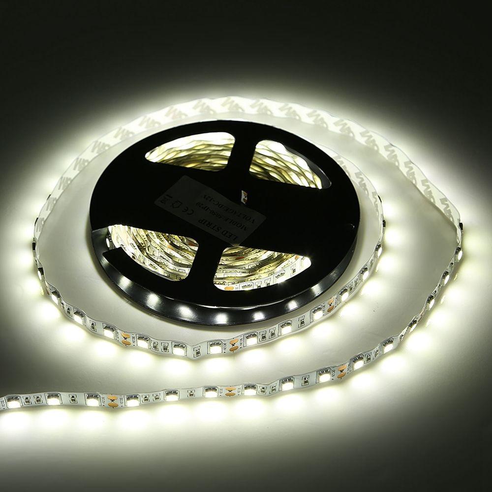 3528 5050 5m white rgb 300 smd 12v dimmable led strip under cupboard lighting ebay. Black Bedroom Furniture Sets. Home Design Ideas